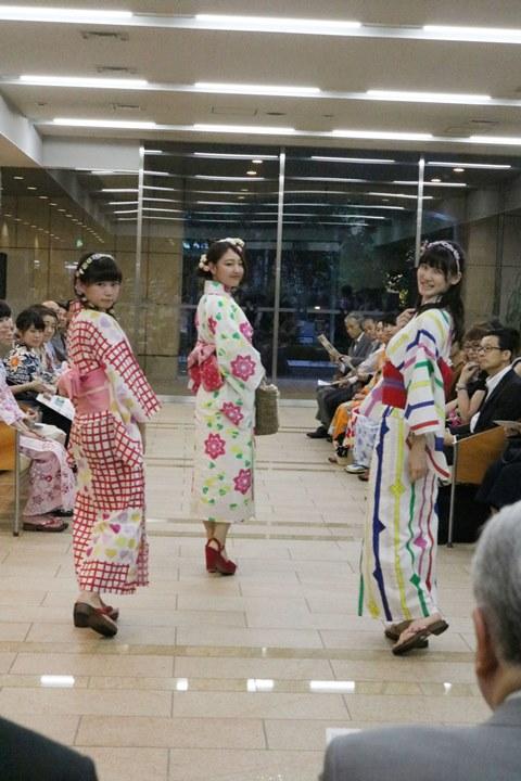 共立女子大学が7月5日に「2017浴衣スタイリングショー」を開催 -- 学生らが「神田明神」のイメージから発想した浴衣をデザイン・制作しステージに登場