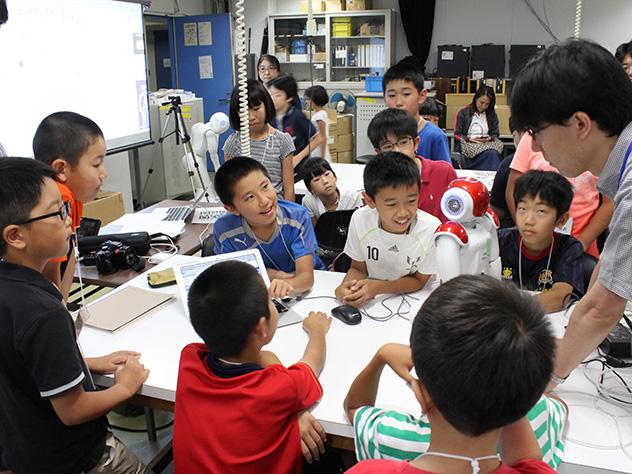 神奈川大学「子どもサマースクール2017」を開催