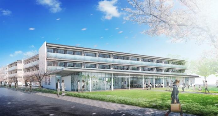 留学生と日本人学生が共に生活し・学ぶ -- 和泉国際混住寮(仮称) 2019年春オープン予定