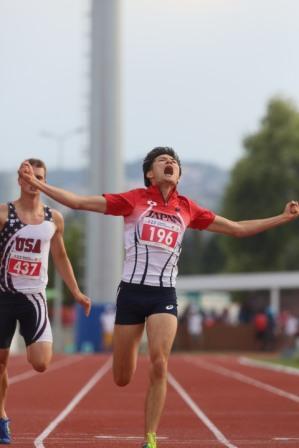 【快挙】東京経済大学陸上競技部 山田真樹さん(コミュニケーション学部2年) デフリンピックで金メダル2個、銀メダル1個獲得