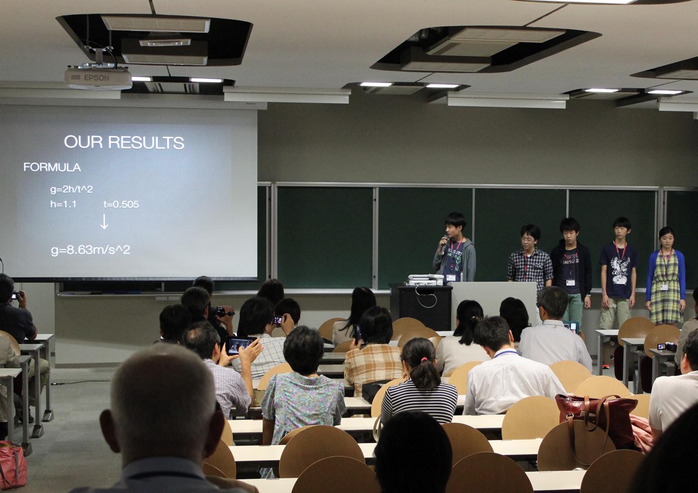 """8月18日に""""Musashi Temple RED Programs""""の学びの集大成として中学生が英語でのプレゼンテーションを実施 -- 武蔵学園"""