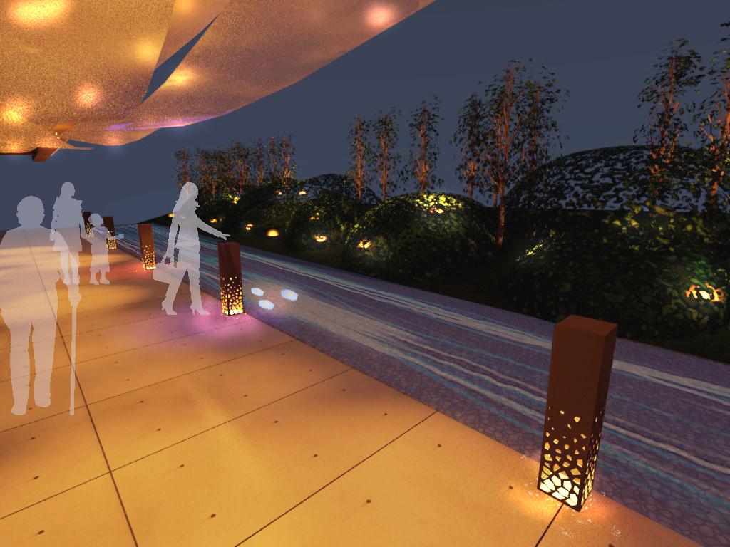 金沢工業大学の学生プロジェクトが体験型演出で白山比め神社の参道をライトアップ -- 8月9日(水)~8月11日(金)