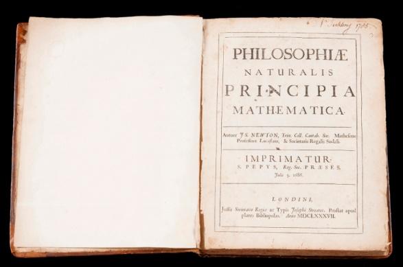 原著から本質を学ぶ科学講座 第1回「ニュートンは何を考え、何を語ったのか~運動の三法則をプリンキピア原典初版本から学ぶ~」開催 -- 金沢工業大学