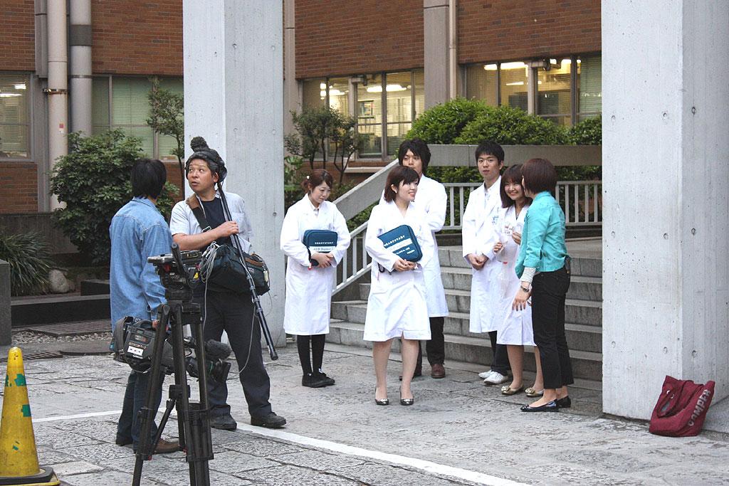 昭和大学救急医療研究部の活動を「こんにちは いっと6けん」(NHK総合テレビ)で紹介