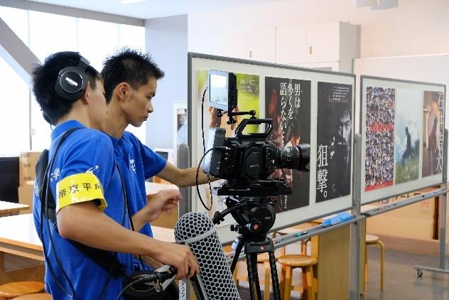 現代ライフ学部人間文化学科メディア文化コースの学生がBlackmagic Designの4.6K映像撮影機材を導入し、オープンキャンパス動画を撮影・制作 -- 帝京平成大学