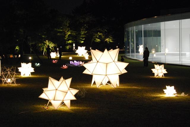 金沢工業大学月見光路プロジェクトが手作りのあかりのオブジェ150個で城下町・金沢の秋を彩る「金澤月見光路2017」開催