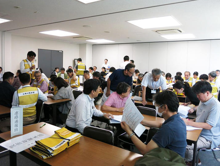 江戸川大学駒木キャンパスで実践型防災訓練を実施 -- 教職員を対象として9月17日に総合訓練と部分訓練、10月2日には学生も参加