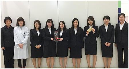 健康メディカル学部 健康栄養学科の学生が「学生のための乳の研究活動支援」にて最優秀賞を受賞 -- 帝京平成大学