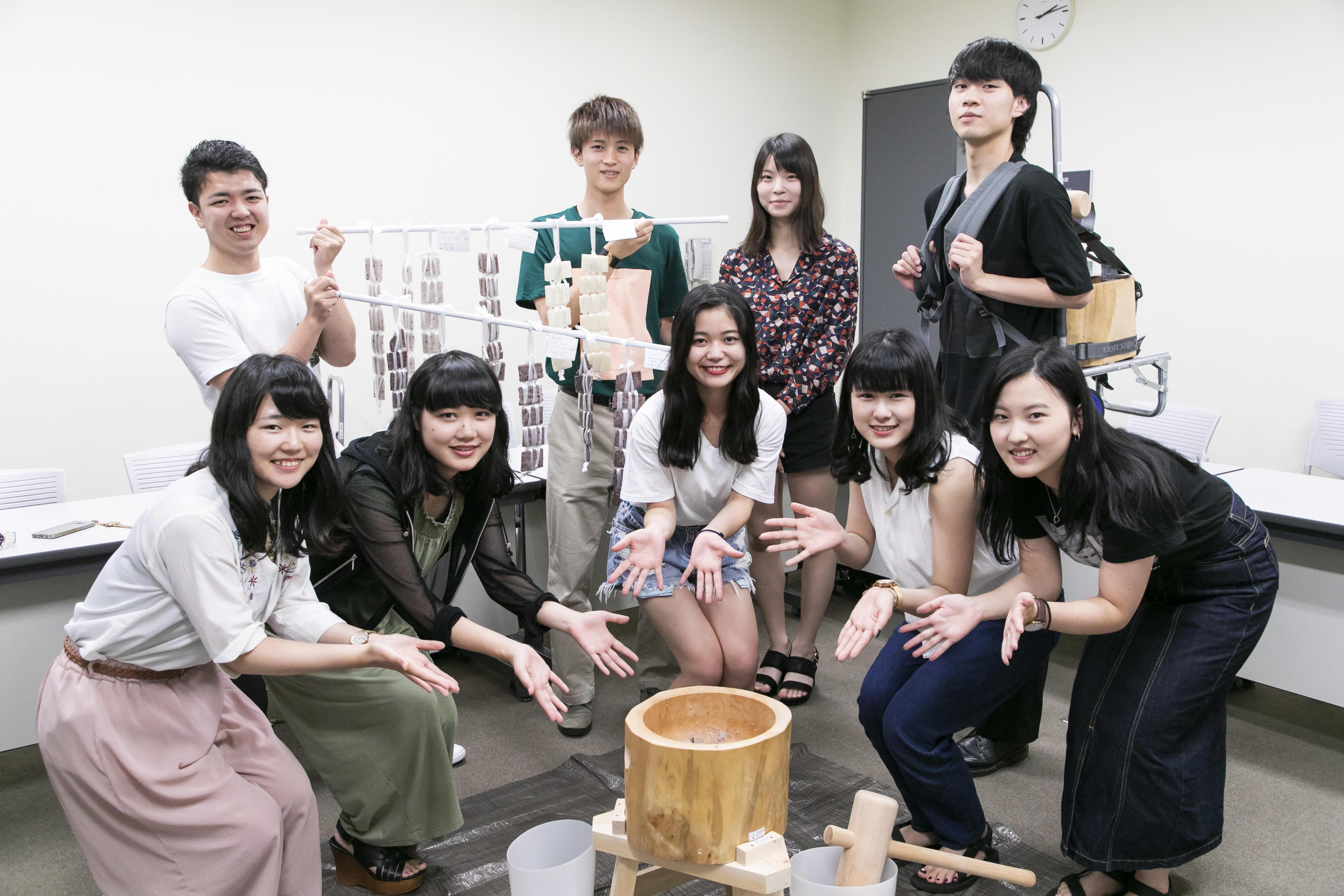 拓殖大学 茂木ゼミナール「餅」プロジェクトinモンゴル 餅作り体験・試食会・会見のご案内