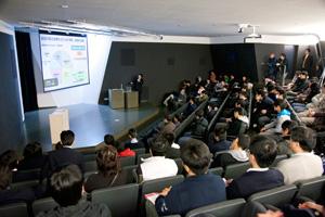 日本工業大学が12月4日に、高校生を対象とした第2回ものづくり環境学科・創造システム工学科合同講演会を開催