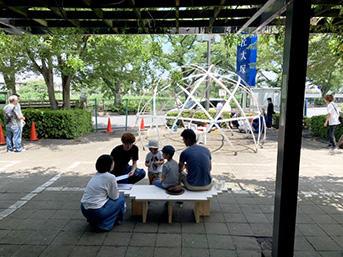 日本工業大学建築学部建築学科の木下研究室を中心に大手家具メーカーの匠大塚春日部本店駐輪場の活用に関する社会実験の取り組みを開始