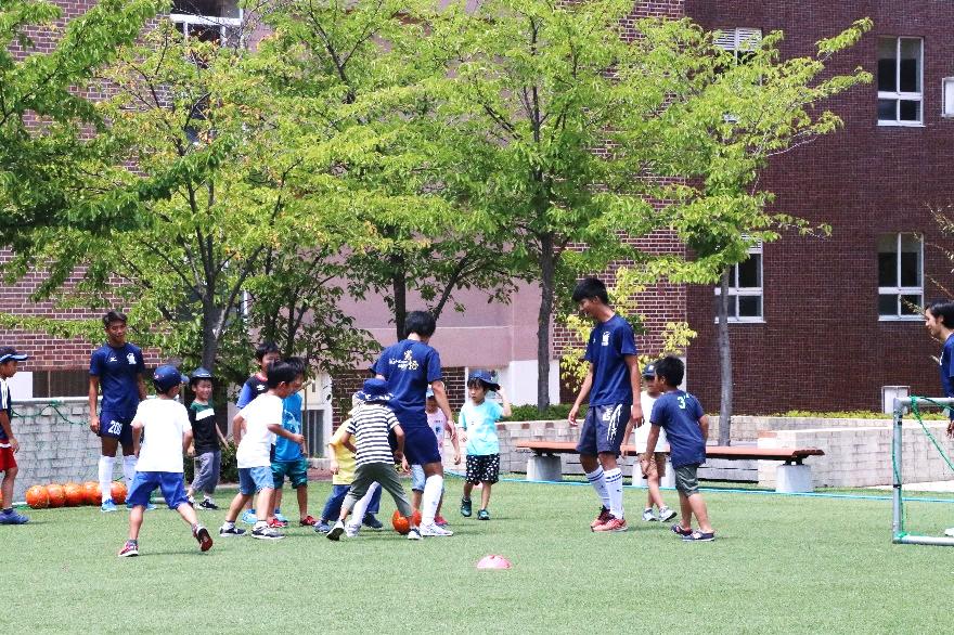 ◆関西大学「カイザーズFactory2019」~ 大学生&キッズ混合運動会!夏休みの宿題も手伝います ~◆