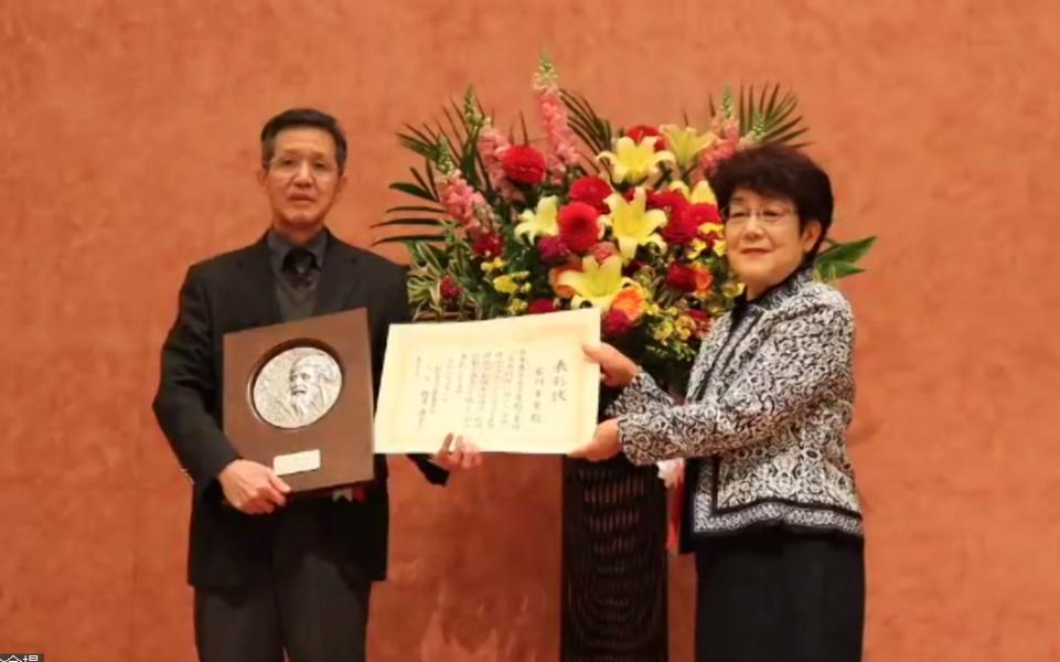 農業生産学科 石川幸男教授が今年度の「日本農学賞・読売農学賞」を受賞 -- 摂南大学
