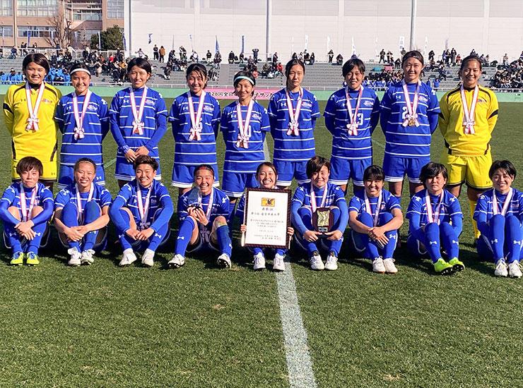 帝京平成大学が「第28回全日本大学女子サッカー選手権大会」で2年連続となる全国3位に入賞
