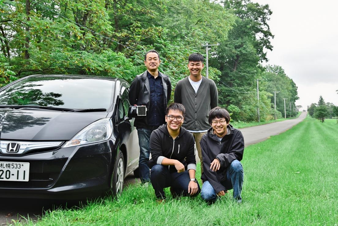 本学教員が「音によるエゾシカと車両の衝突回避に関する実験」を行いました。 -- 北海道科学大学