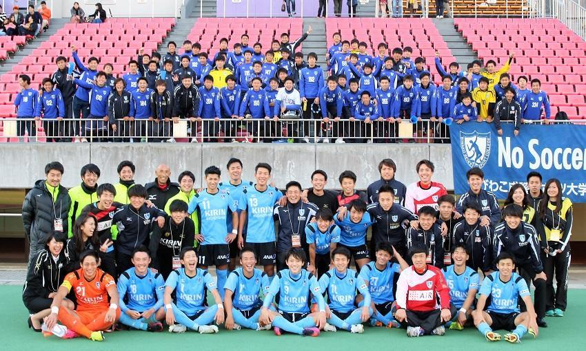 びわこ成蹊スポーツ大学サッカー部(男子)が関西学生サッカーリーグ1部で優勝確定 -- インカレは同クラブ初の関西第1代表として出場