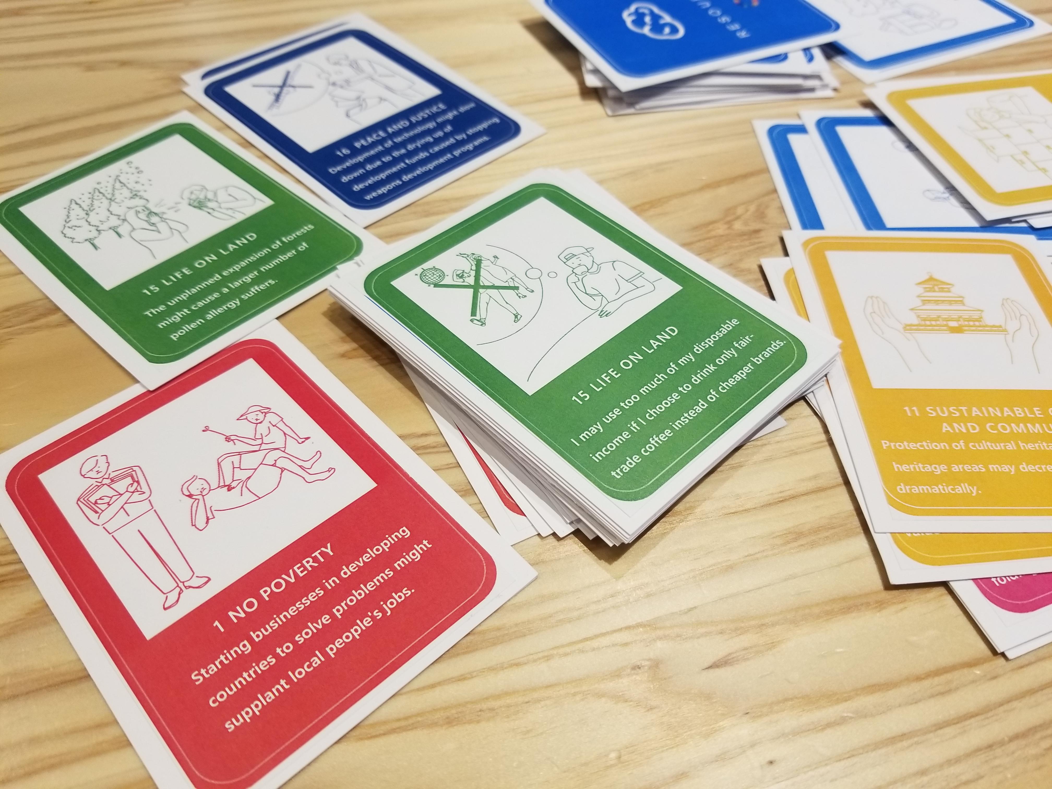 金沢工業大学がリバースプロジェクトと共同開発。カードゲーム『SDG Action cardgame「X(クロス)」』のローンチイベントを9月25日に開催。~世界初のSDGsに関するクラウド型カードゲームを無料配布~