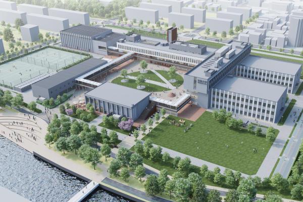 2021年4月、新キャンパス開設 -- 「東京あだちキャンパス起工式」を執り行いました