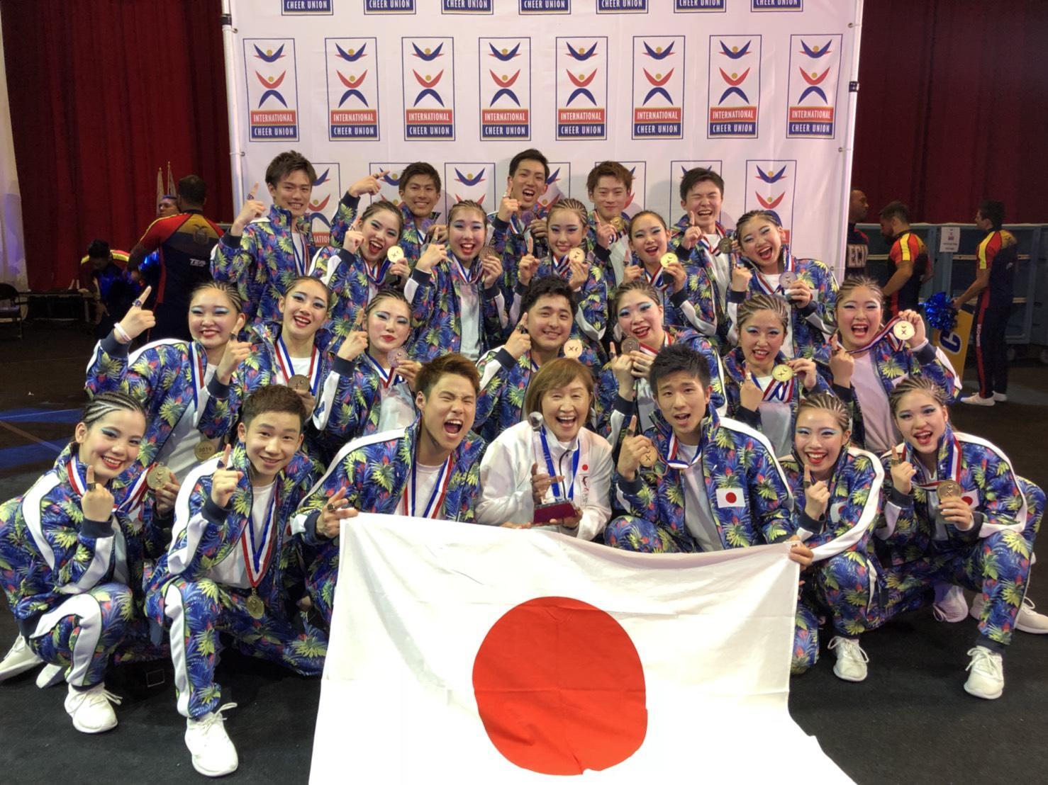 創価大学の学生が「ICUチアリーディング世界選手権2019」に日本代表として出場 -- ヒップホップダブルスで4連覇、チームチア・ヒップホップで3連覇