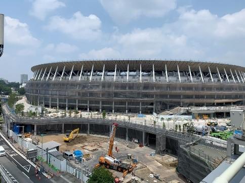 ''2020年への記録'' 「新国立競技場建設 定点観測プロジェクト」2016年5月からの観測写真が80枚を突破! ~''1964年の記憶'' 「1964年オリンピック東京大会資料」もご紹介可能です~