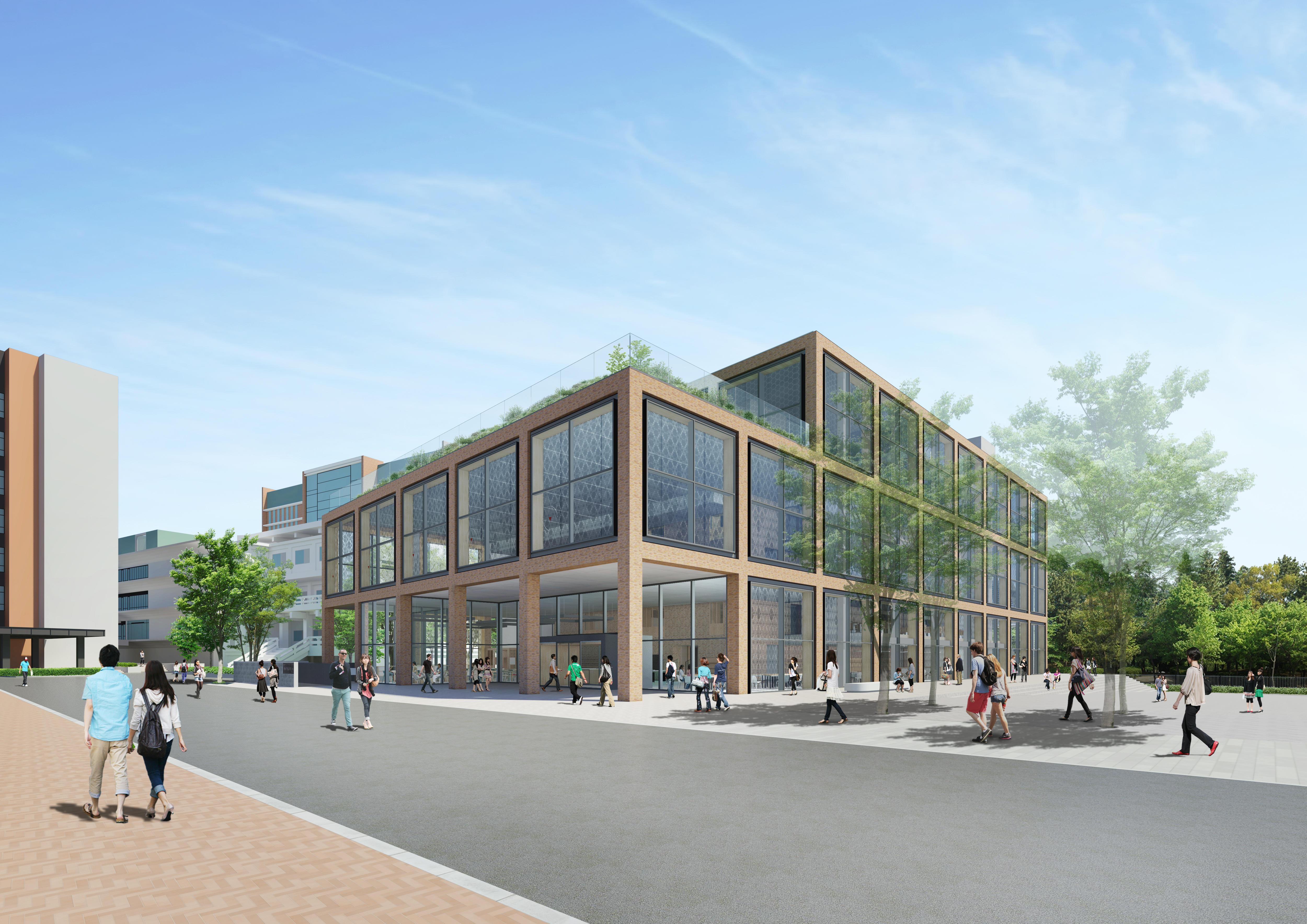 駒澤大学が新図書館建設のために地鎮式を実施 -- 2022年10月開館予定