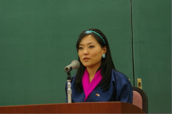 ブータン王国ケサン王女が龍谷大学にて特別講演会「国民総幸福度(GNH)政策―仏教思想の理念が国民総幸福度政策にどの様に活かされたのか―」を実施