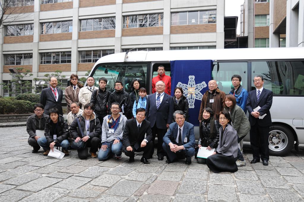 医系総合大学の昭和大学が、被災地に向け医療救援隊を派遣