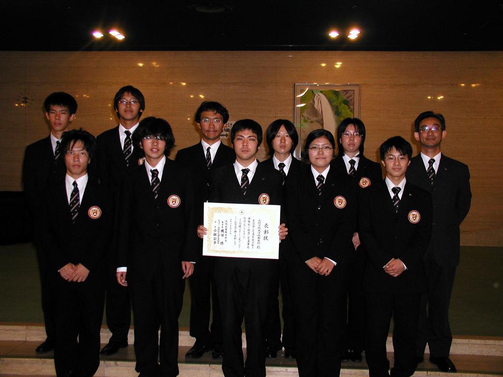 大阪学院大学吹奏楽部が「交通安全功労者表彰(団体の部)」受賞