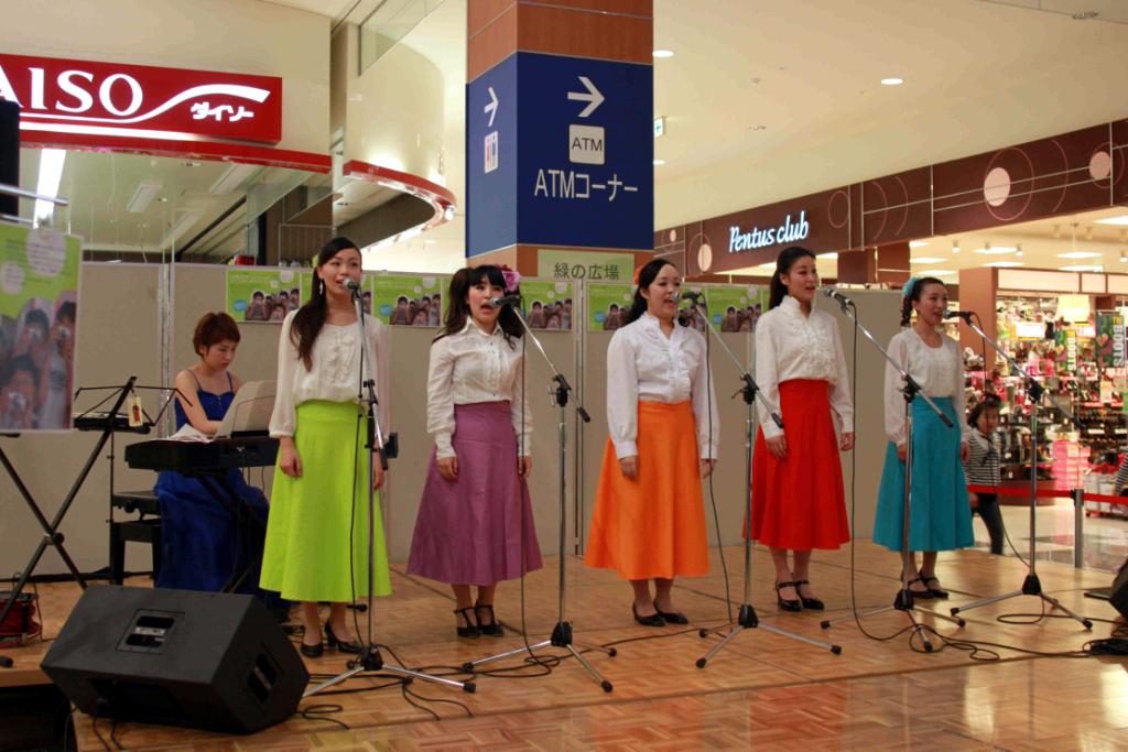聖徳大学OGによって結成された声楽アンサンブルDiva-Rangerが、2月18日に東日本大震災復興支援チャリティコンサート「虹色の未来」を開催