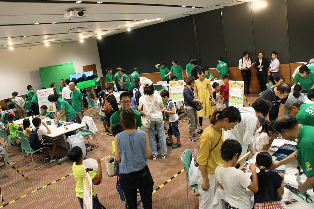 「大阪電気通信大学」×「イオンモール四條畷」によるコラボレーション テクノフェアinイオンモール四條畷を開催しました