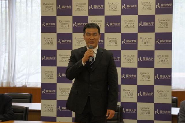 龍谷大学ラグビー部新監督に元日本代表 大内寛文氏(同大OB)が就任