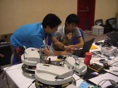 龍谷大学電子情報学科植村研究室チームがRoboCup2012世界大会Logistics Leagueに日本代表として出場