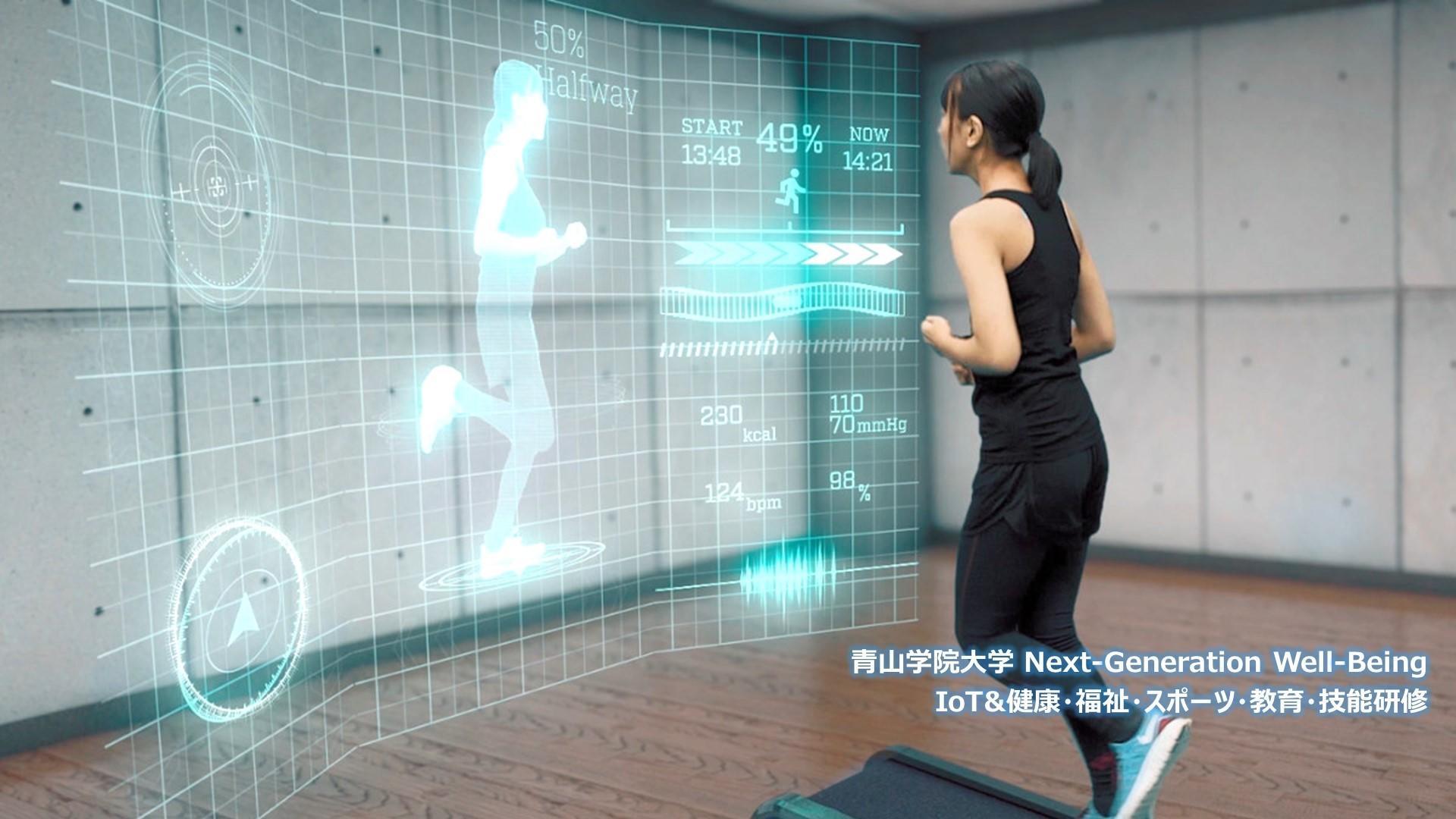 青山学院大学「Next Generation Well-Being」が、3月5日(月)にシンポジウム「ヒトとヒトが係る環境の計測とモデル化技術 ~IoTが支える次世代 Healtech & Sportech~」を開催