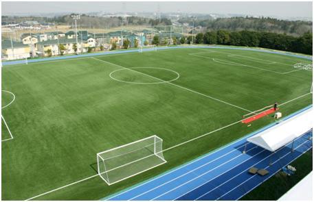帝京平成大学千葉キャンパスに、最高峰の人工芝を備えた「うるいどグラウンド」が完成