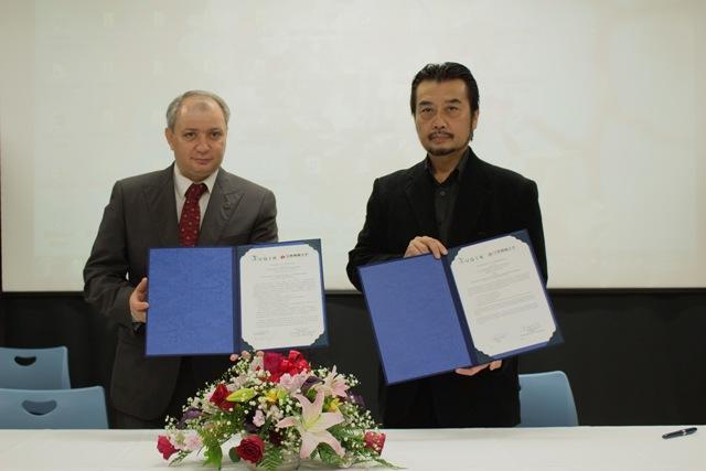 日本映画大学が全ロシア国立映画大学と学術交流協定を締結 -- 映画作品の共同制作や映画祭などで交流