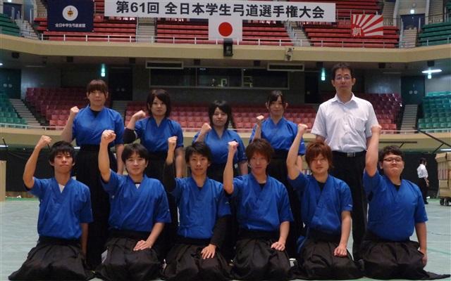 法人創立110周年の節目の年に、弓道部女子団体が全国大会で初優勝――東日本国際大学