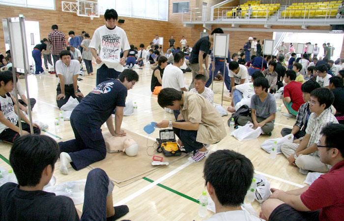 日本工業大学が九都県市合同防災訓練に参加