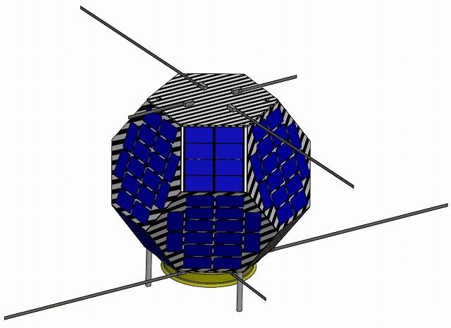 九州工業大学提案の深宇宙通信実験機「しんえん2」が、平成26年秋期に打ち上げ予定の「はやぶさ2」に相乗りする小型副ペイロードとして合格