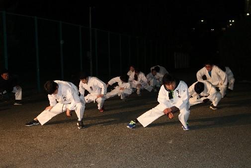 崇城大学で1月21日~25日まで伝統行事「第44回寒稽古」を実施 -- 武道系などの運動部が大寒の早朝練習で心身を鍛える