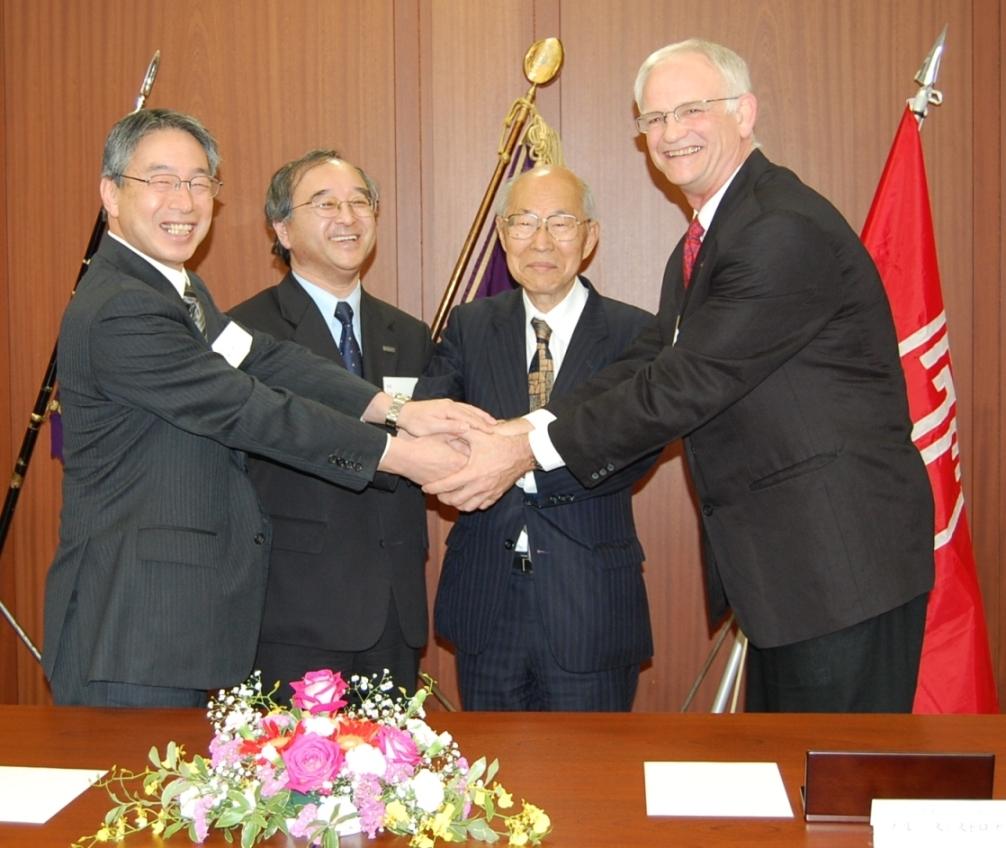 武蔵大学、武蔵高等学校中学校とテンプル大学ジャパンキャンパスが「教育・学術上の連携に関する基本協定」を締結