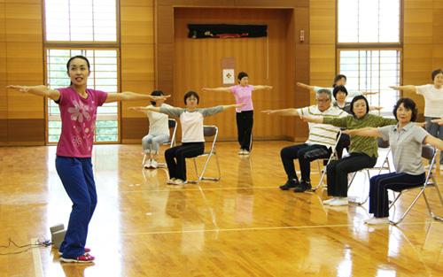 日本工業大学が「みやしろキラキラ体操」の制作に関わる