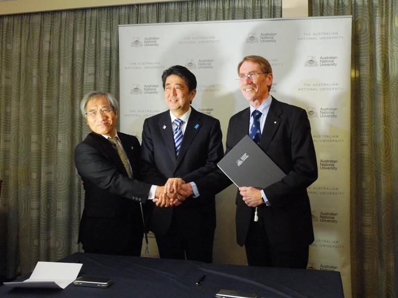 オーストラリア国立大学と立命館大学「共同学士課程」設置の検討について連携・共同に関する覚書を締結