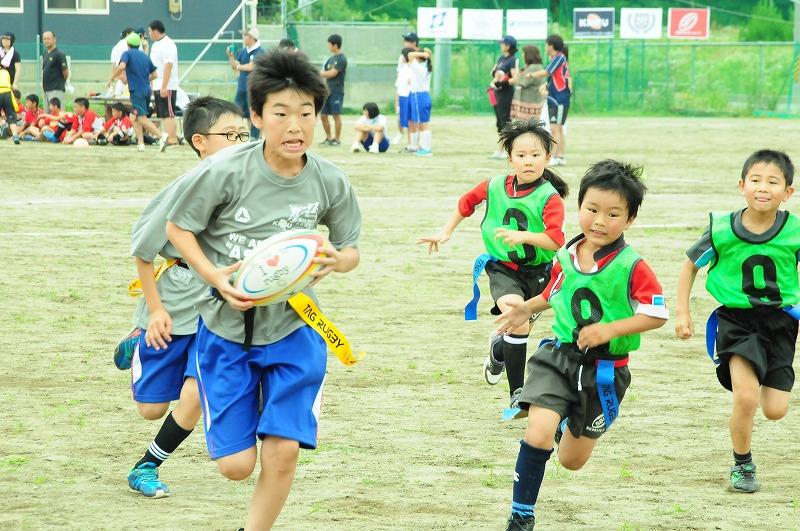 関東学院大学×安藤ハザマ――宮城・気仙沼で400人が参加するタグラグビー大会を開催