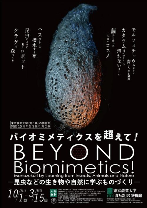 東京農業大学「食と農」の博物館 開館10周年記念展示「バイオミメティクスを超えて!」―昆虫などの生き物や自然に学ぶものづくり―