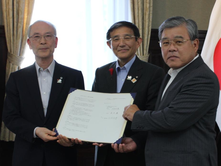 和歌山県すさみ町、由良町と「大学のふるさと」協定を締結――摂南大学