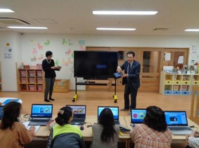 追手門学院幼稚園が電子図書館を導入 -- 関西の幼稚園では初、6月1日から運用開始