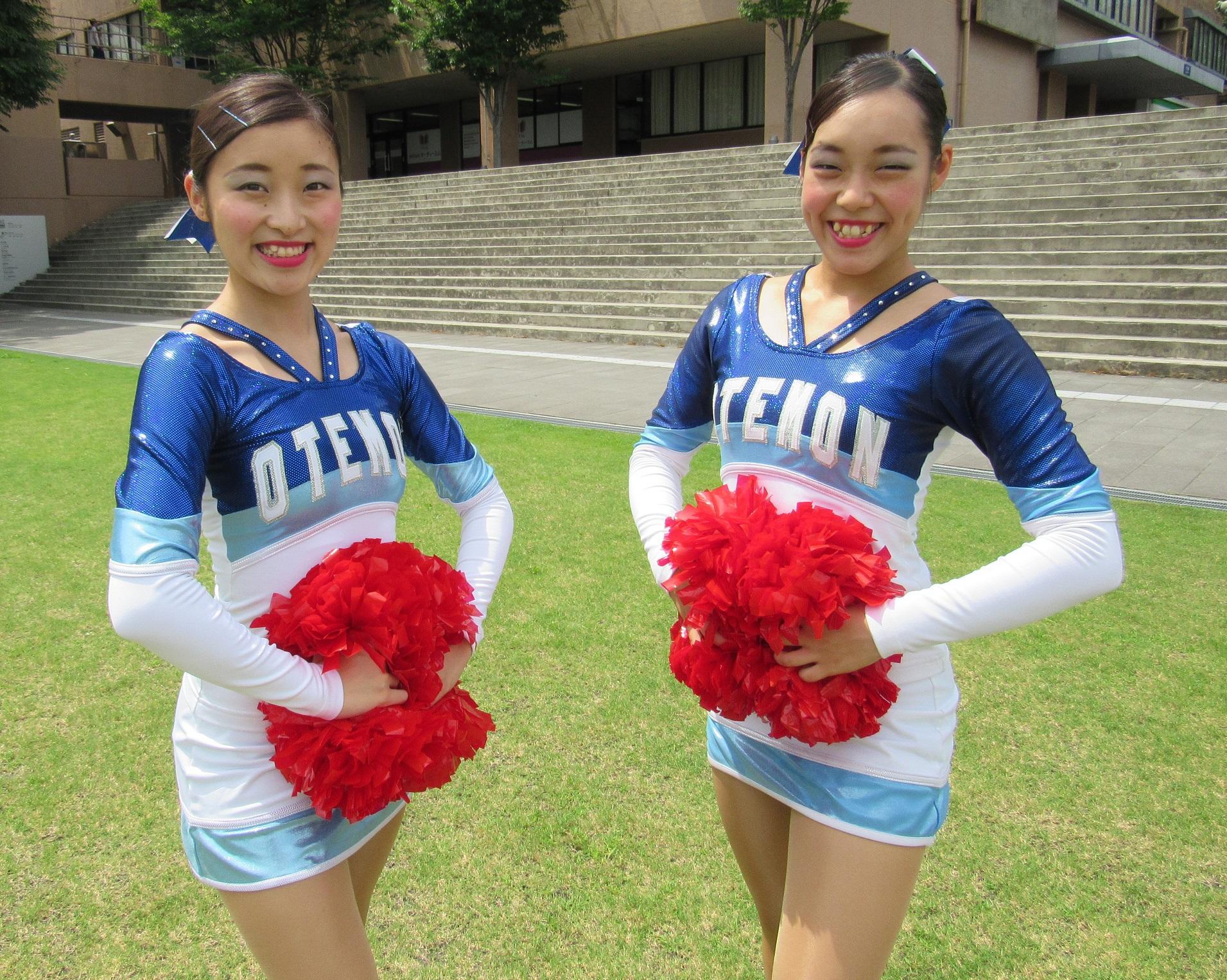 追手門学院大学応援団チアリーダー部のチアダンスペアが日本代表に内定 -- 10月のFISU世界大学選手権に出場