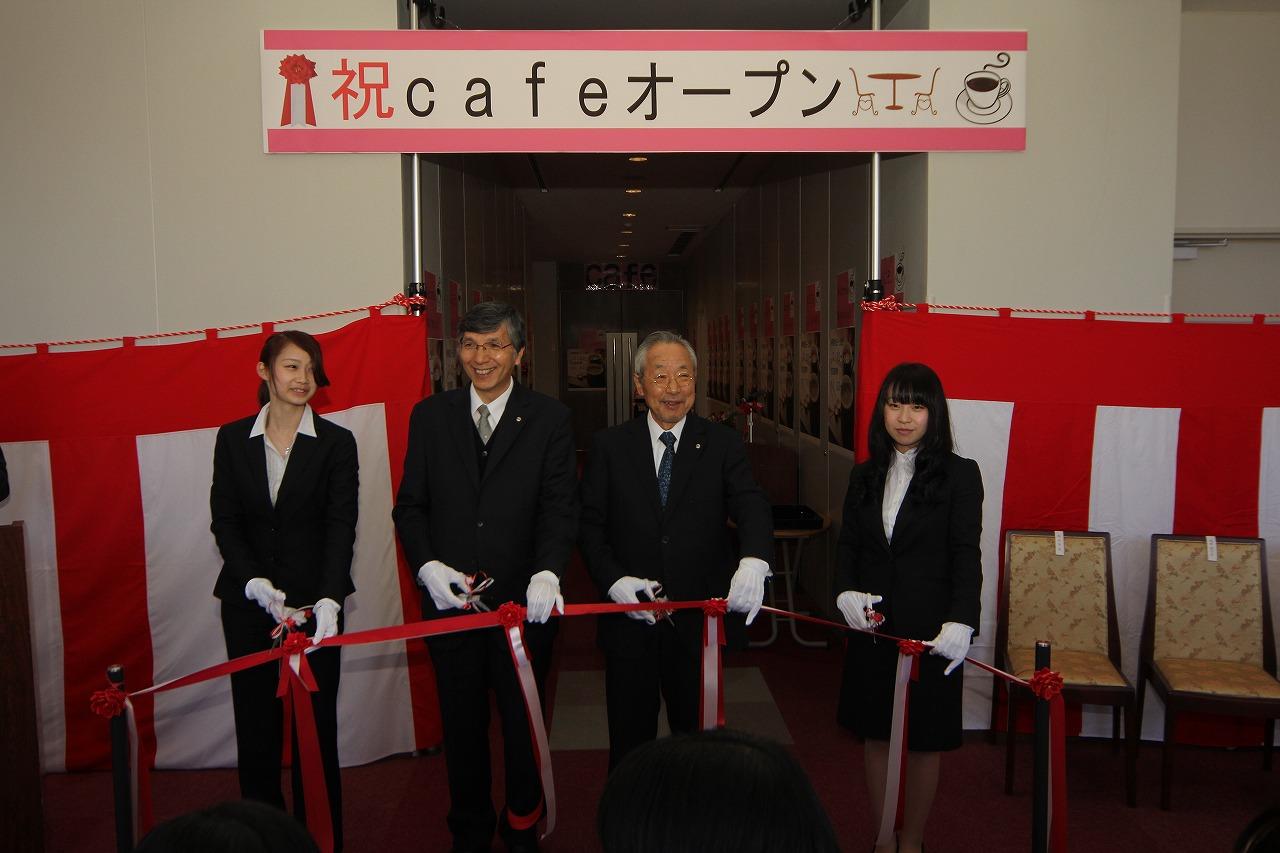 学生と地域の方々の憩いの空間――広島国際大学東広島キャンパス2号館8階に新たなカフェがオープン
