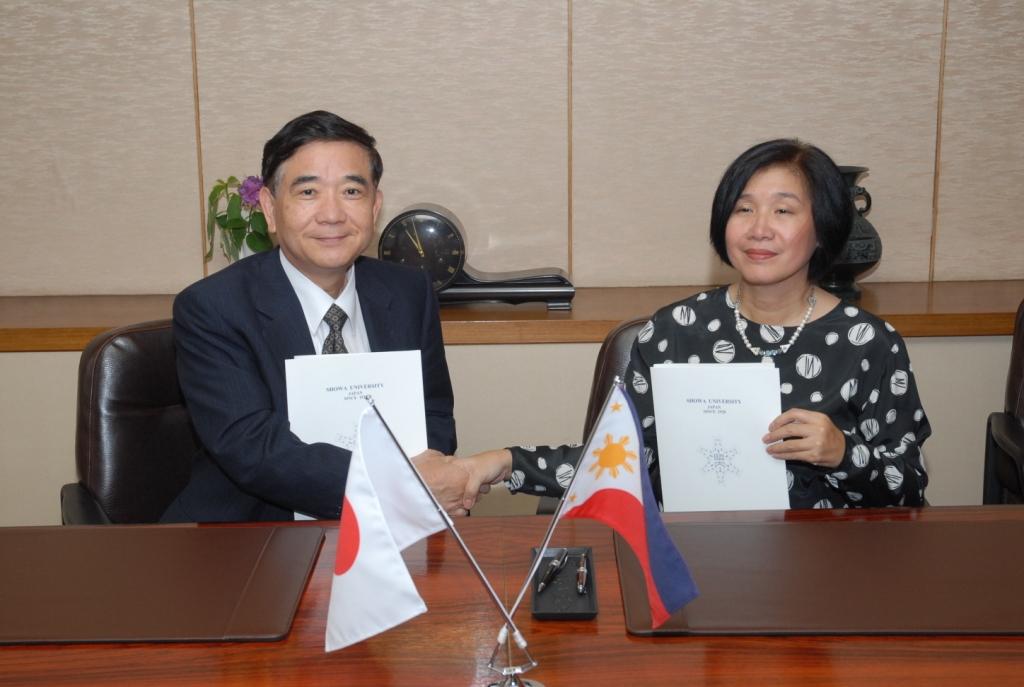 昭和大学医学部・保健医療学部とフィリピン大学医学部・看護学部が学部間協定を締結