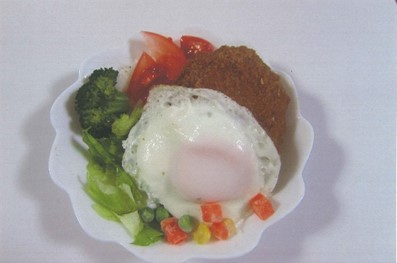 高校生が大学の学食メニューを新提案 -- 東京理科大学の学食で「葛鹿ロコモコ丼」を試験販売